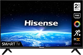 HISENSE 40A4GTUK (40 Inch) FHD Smart TV, with Natural Colour Enhancer, DTS Virtual X, VIDAA U5 OS, Youtube, Netflix, Freev...