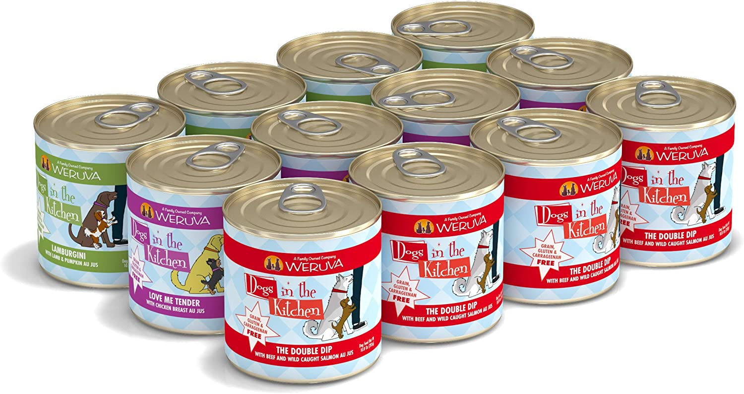 Weruva Dogs Ranking TOP9 in The Kitchen Grain-Free High material Canned Natural Foo Wet Dog
