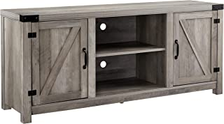 Rockpoint Entertainment Stand, TV Console, Grey Wash