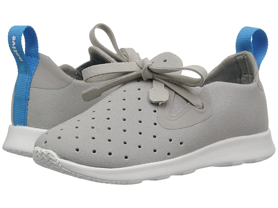 Native Kids Shoes Apollo Moc (Toddler/Little Kid) (Pigeon Grey/Shell White) Kids Shoes