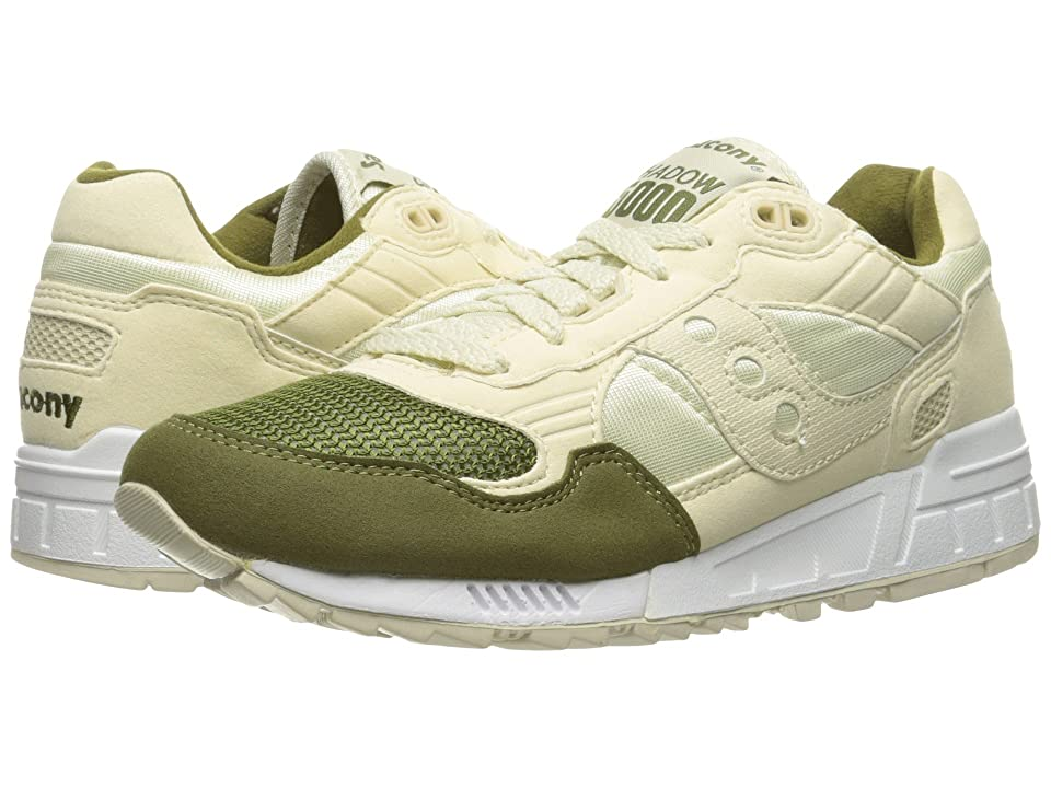 Saucony Originals Shadow 5000 (Cream/Green) Men