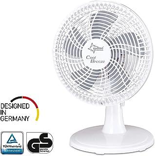 SUNTEC ventilador de sobremesa CoolBreeze 2.000 TV [20 cm Ø aspas, 2 velocidades, cabezal movible, 15 W]