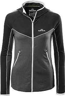 Kathmandu Flinders Merino Wool Blend Warm Hiking Skiing Womens Hooded Jacket Women's