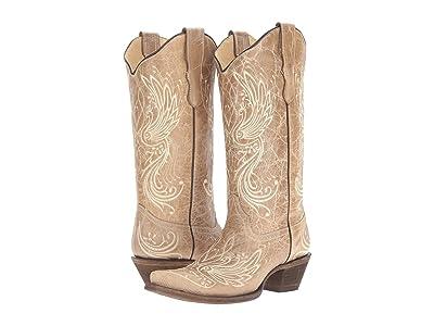 Corral Boots E1035 (Bone) Women