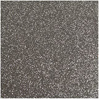 Anita y Su Mundo 37111475-Básicos Scrapbooking – cartulina, Color, 250 g, Plata Purpurina, 12x12 pulgadas