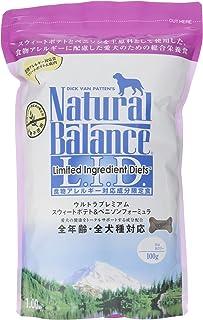 ナチュラルバランス スウィートポテト&ベニソン (全犬種/全年齢対応) 1kg