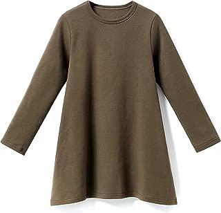IRELIA Girls Dress Long Sleeve Solid Tops
