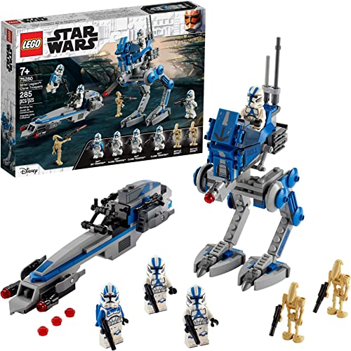 LEGO Star Wars 501st Legion Clone Troopers 75280 Building Kit Cool Action Set for Creative Play and Awesome Building; Great Gift or Special Surprise for Kids (285 Pieces)