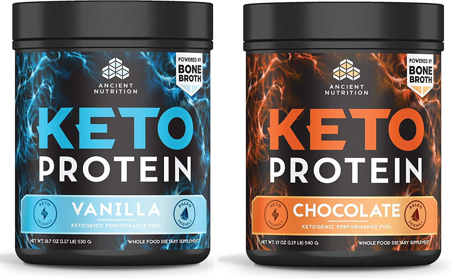 Ancient Nutrition Keto Protein Bundle Chocolate KetoPROTEIN - Super Max 50% OFF popular specialty store +