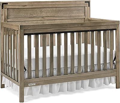 Fisher-Price Cranford 4-in-1 Convertible Crib, Barn Grey