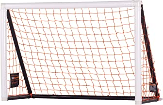 Goalrilla Portable 4' x 6' Gamemaker Soccer Goal Sets Up on Any Surface in 90 Seconds Great for Indoor or Backyard Play