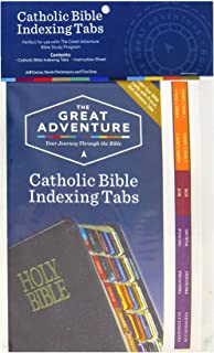 The Great Adventure: Bible Indexing Tabs (2017)