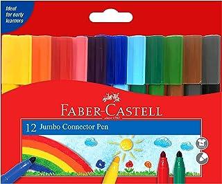 Faber-CastellJUMBO CONNECTOR FELT PEN 12 COLOR