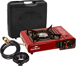 Camp Chef Multi-Fuel And Butane Stove, Red/Black, BP138