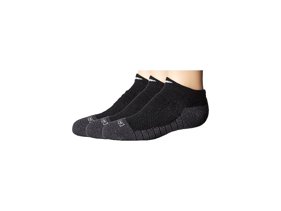 Nike Kids - Nike Kids 3-Pair Pack Dri-Fit No Show Socks