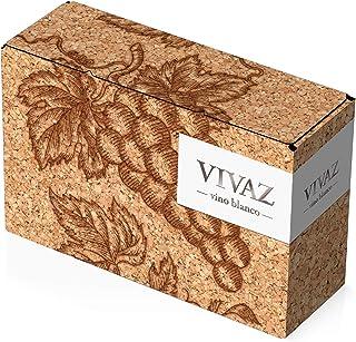 [Amazon 限定ブランド] スペインのフレッシュでまろやかな上質白ワインバッグインボックスVIVAZ(ビバズ) [ 白ワイン 辛口 スペイン 3000ml ]CKDN