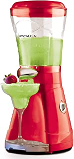 Nostalgia MSB64 64-Ounce Margarita & Slush Maker, Perfect For Slush Drinks, Daiquiris, Red