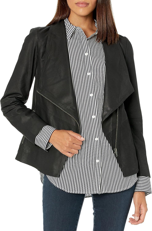 BB Dakota by Steve Madden Women's East Side Drape Front Jacket