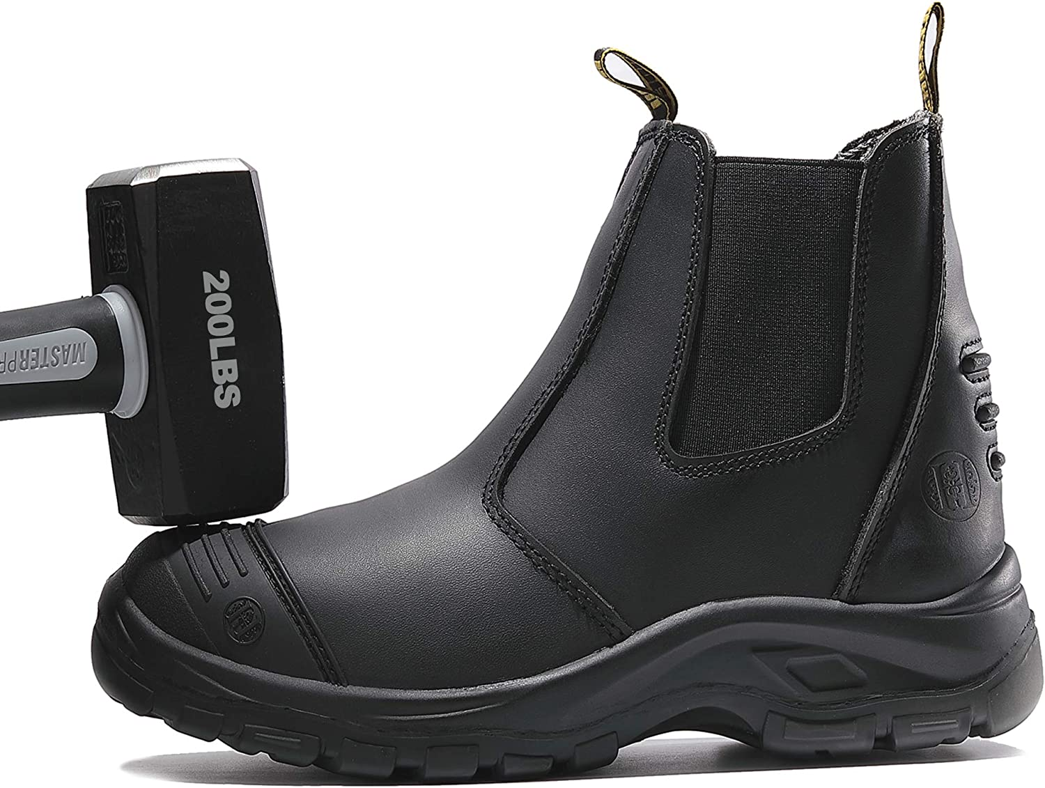 WORKPOINT Work Boots for Men Steel Toe