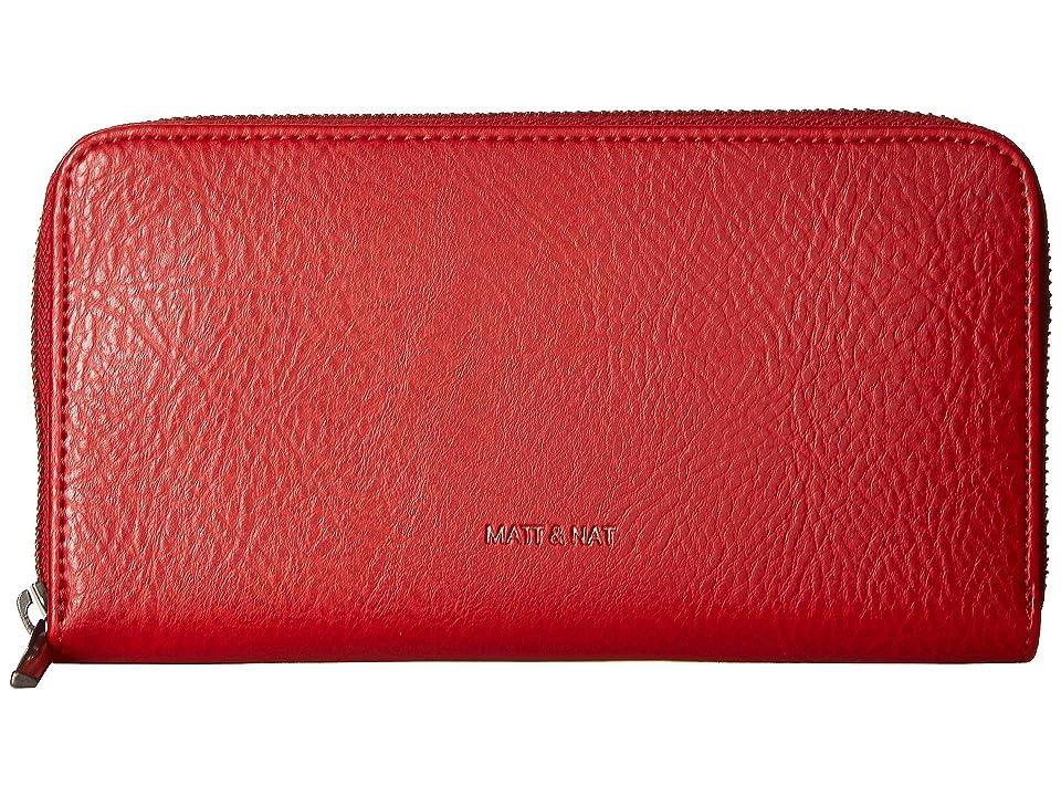 Matt & Nat Dwell Inver (Red) Handbags