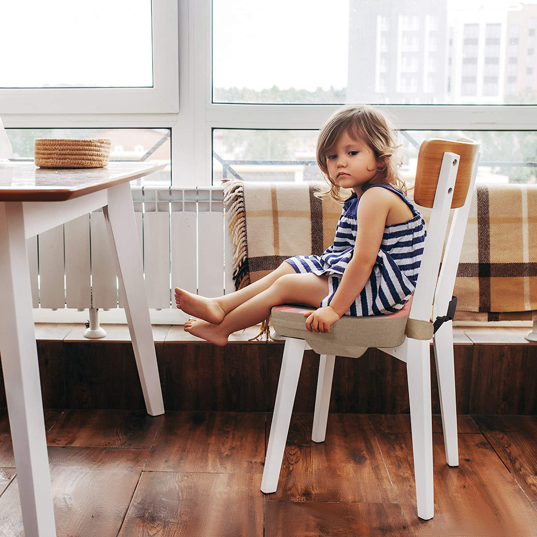 39x39x10cm,Sitzerh/öhung f/ür Kinder mit Ersatz-/Überzug Cushion + Cover Elephant Bear Sitzkissen f/ür Esszimmerst/ühle