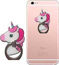 EinhornLiebe Finger Ring Stand Unicorn Cell Phone Ring Holder 360 Degree Rotation Kickstand