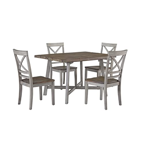 Distressed Wood Dining Tables: Amazon.com