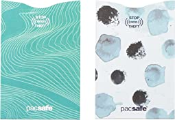 Pacsafe RFIDsleeve 25 RFID Blocking Credit Sleeve (2 pack)