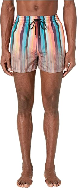 Artist/Multistripe Mix Classic Swim Shorts