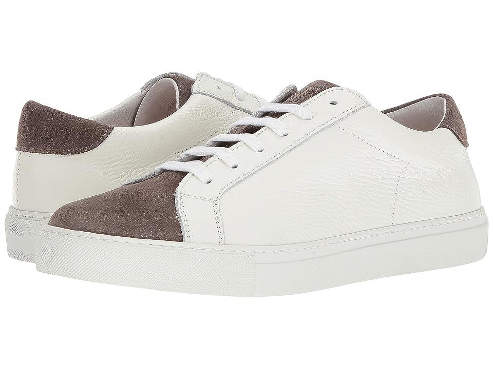 eleventy Bi Color Sneaker (Taupe/White) Men