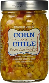 Trader Joe's Corn and Chile Tomato-less Salsa 13.75 oz