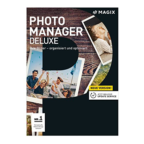 MAGIX Photo Manager Deluxe – Version 17 – Die Foto- und Bildverwaltungs-Software [Download]