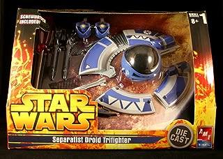 Star Wars Die Cast Model Kit Separatist Droid Tri-Fighter