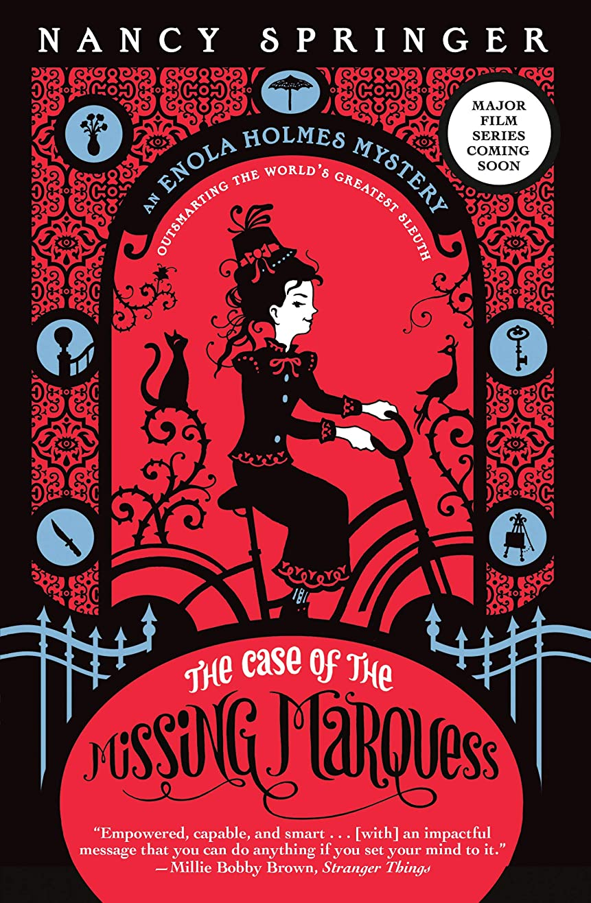 オートマトン協力的ミットThe Case of the Missing Marquess: An Enola Holmes Mystery (English Edition)