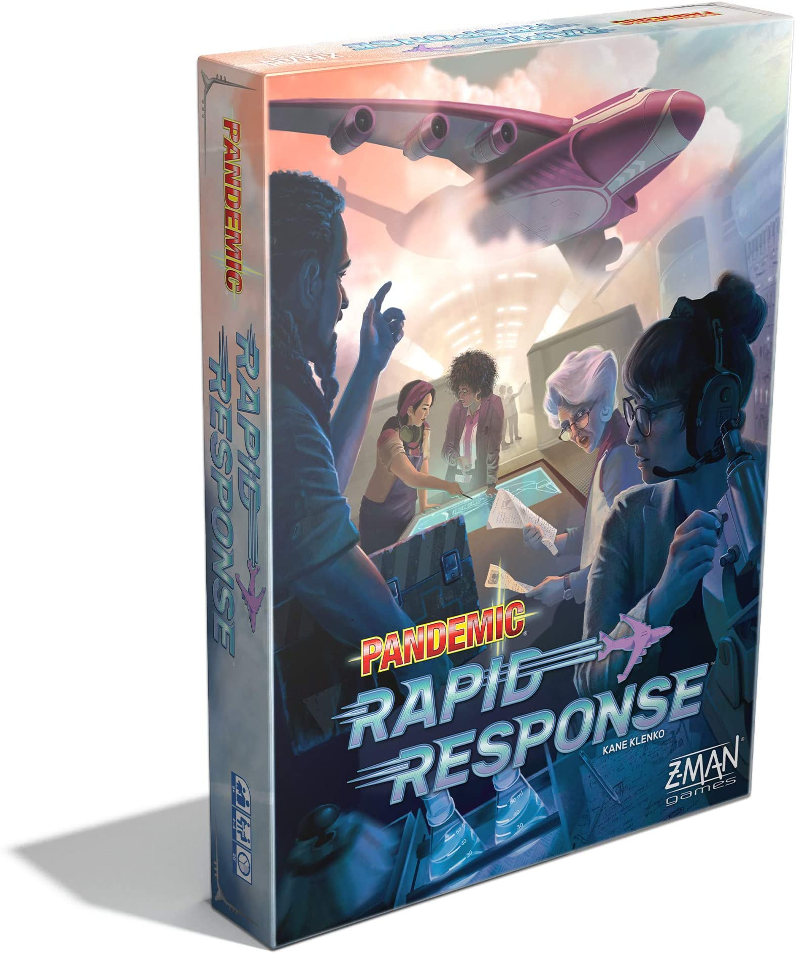 Pandemic Rapid Response Board Game | Family Board Game | Board Game for Adults and Family | Cooperative Board Game | Ages 8+ | 2 to 4 players | Average Playtime 20 minutes | Made by Z-Man Games