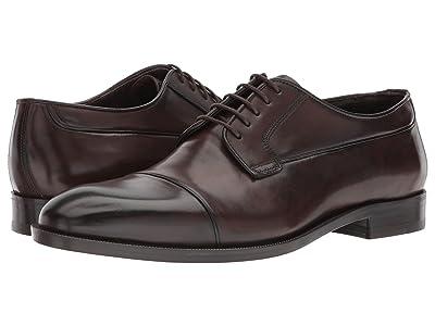 Canali Cap Toe Oxford (Brown) Men