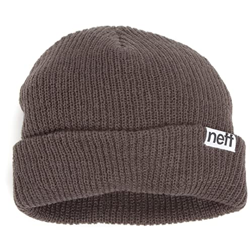 ef2350246f6 NEFF Fold Beanie - Men s One Size - Charcoal