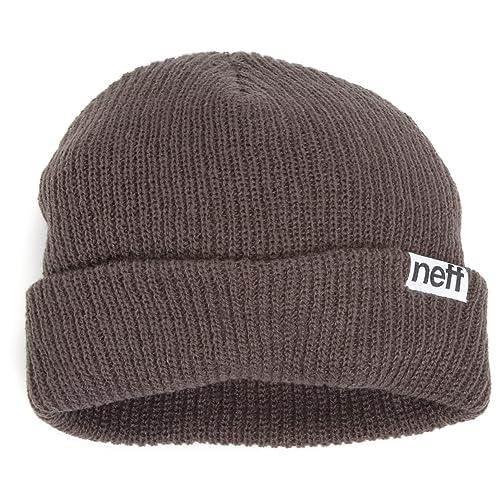 30c556bb12a NEFF Fold Beanie - Men s One Size - Charcoal