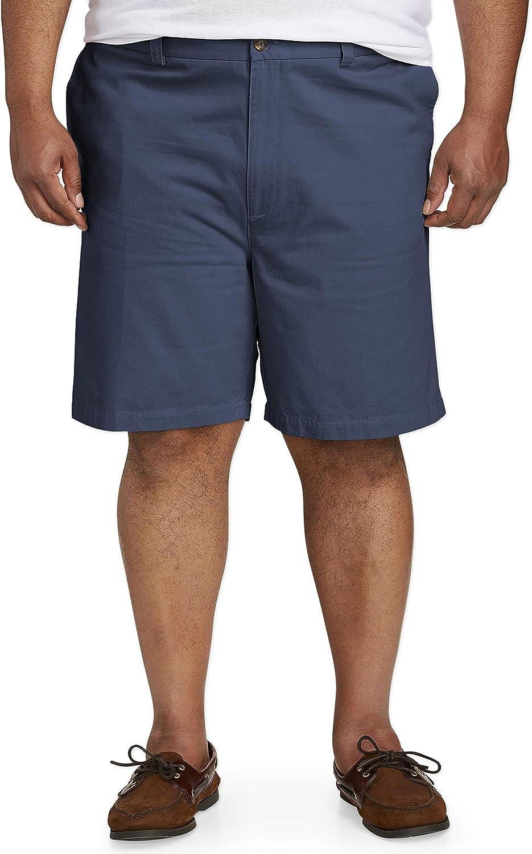 Amazon Essentials Men's Big & Tall Classic-fit Flat-Front Short