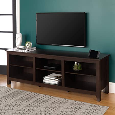 Amazon Com Ameriwood Home Carson Tv Stand For Tvs Up To 70 Cherry Furniture Decor