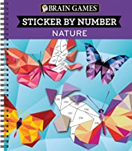 Brain Games – Sticker by Number: Nature (Geometric Stickers) PDF
