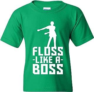 Kids Floss Like A Boss - Flossin Dance Funny Emote Youth T Shirt