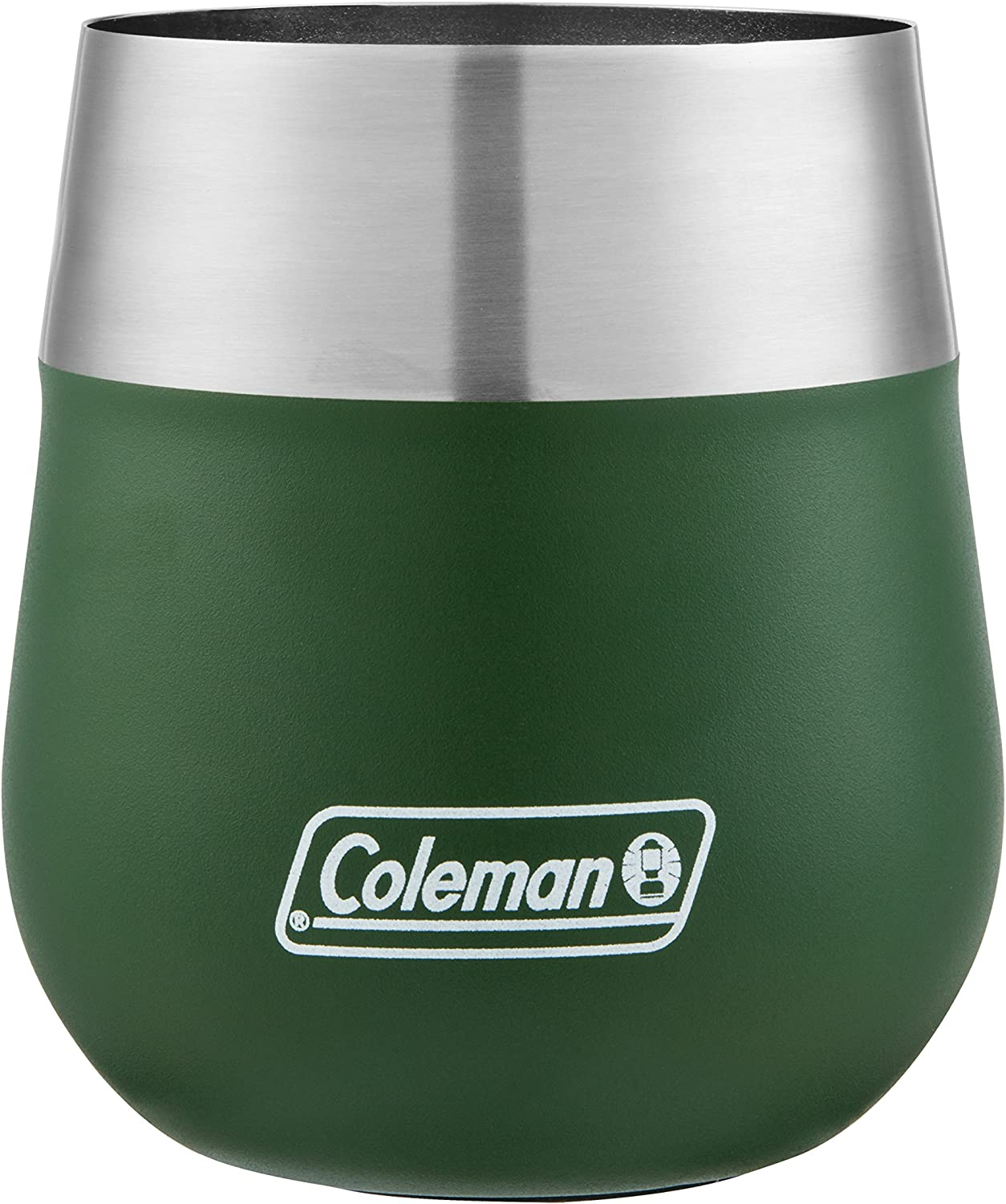 Coleman Claret Max 90% Louisville-Jefferson County Mall OFF Insulated Stainless Glass Wine Steel