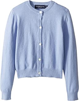 Cotton Cashmere Cardigan (Toddler/Little Kids/Big Kids)