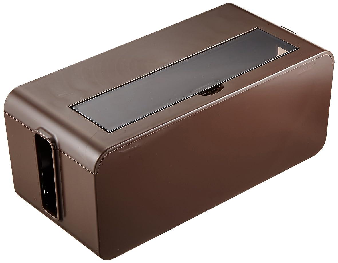 満足できるみなす盆イノマタ化学 テーブルタップボックス ブラウン