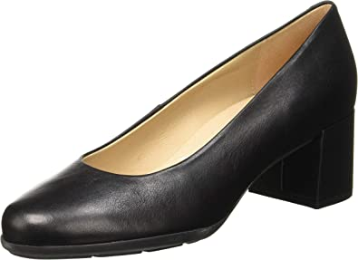 TALLA 36.5 EU. Geox D New Annya Mid A, Zapatos con Tacón Niñas