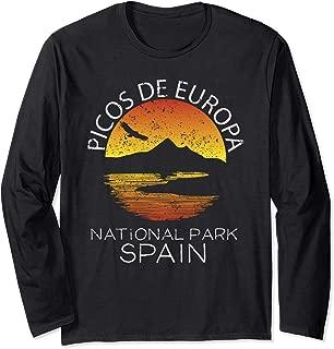 Picos de Europa National Park Spain Gift Nature Vacation Long Sleeve T-Shirt