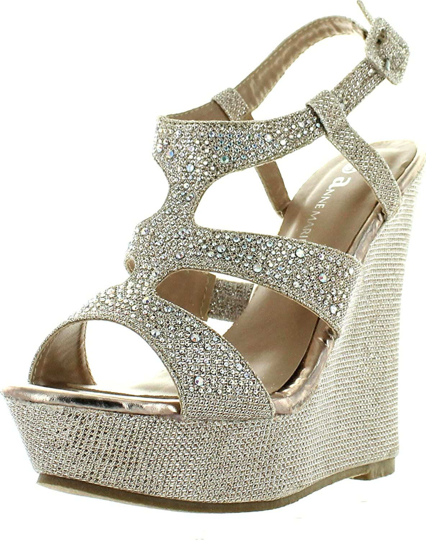 V-Luxury price Womens 40-KENDRA1 Open Toe Heel Wedge Challenge the lowest price Platform San High