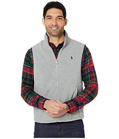 Polo Ralph Lauren Poly Fleece Vest (League Heather) Men