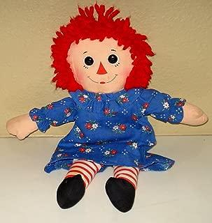 Raggedy Ann Plush Doll - 12 Inches